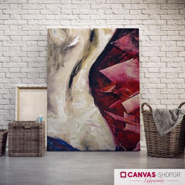 Γυναικείο σώμα, πίνακας σε καμβά