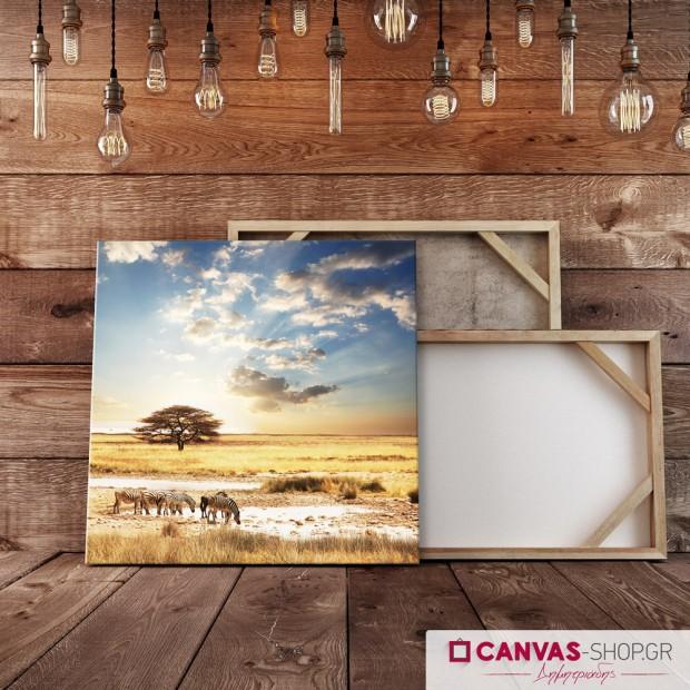 Safari, πίνακας σε καμβά