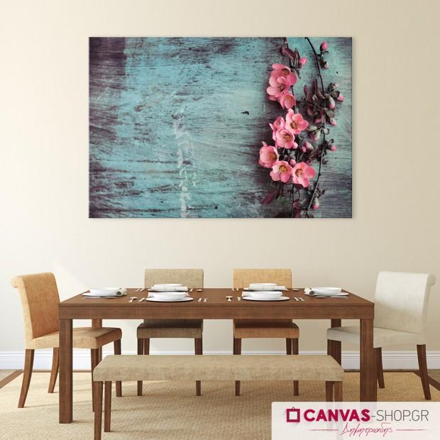 Άνθη Αμυγδαλιάς, πίνακας σε καμβά