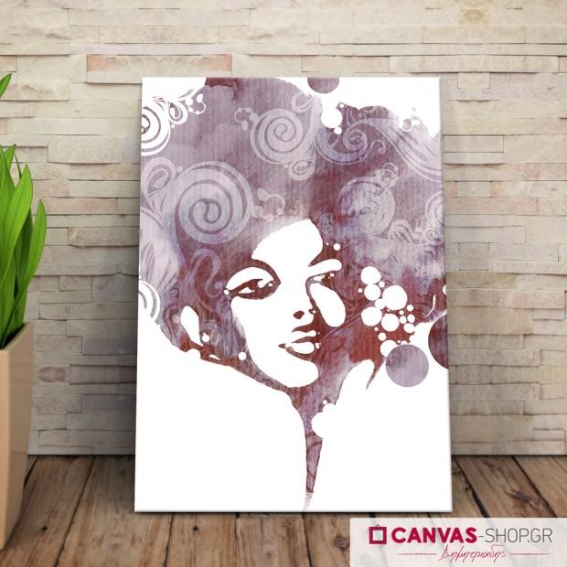 Γυναίκα, πίνακας σε καμβά