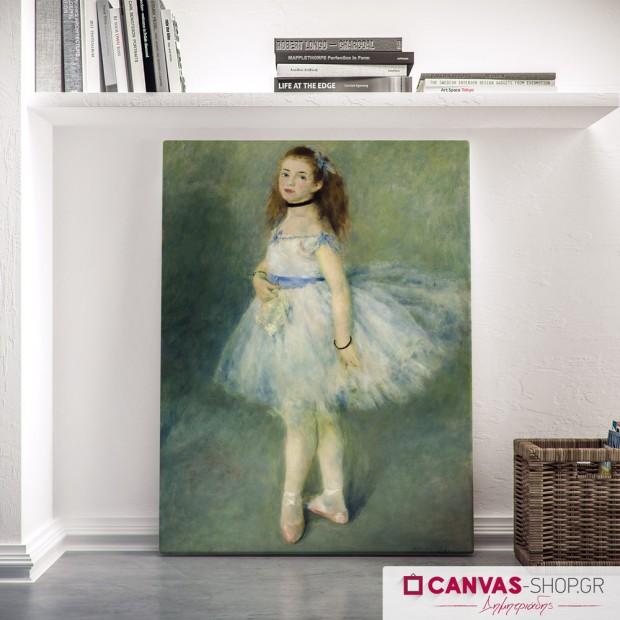 Auguste Renoir: H χορεύτρια, πίνακας σε καμβά