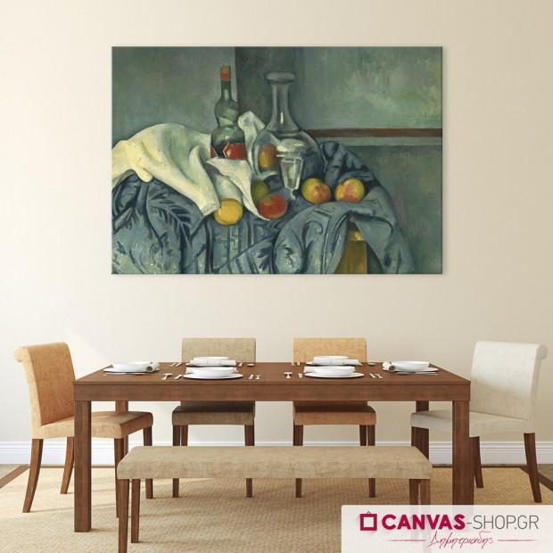 Paul Cezanne: Νεκρή Φύση, πίνακας σε καμβά