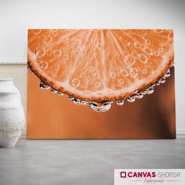 Πορτοκάλι, πίνακας σε καμβά