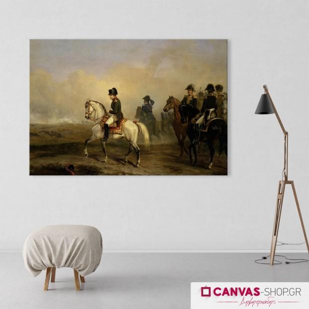 Ναπολέων , πίνακας σε καμβά