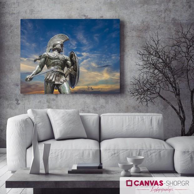 Λεωνίδας, πίνακας σε καμβά