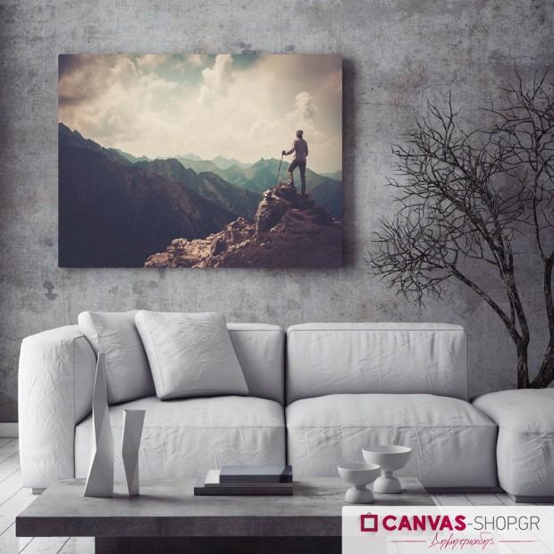 Ορειβασία, πίνακας σε καμβά