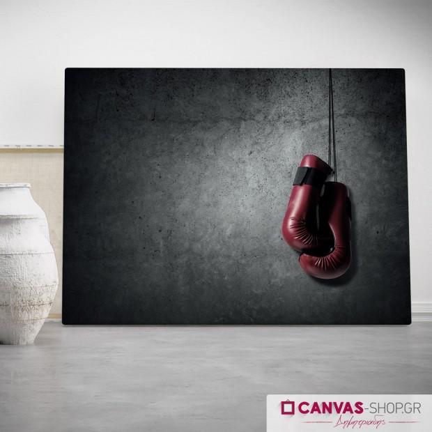 Kick box, πίνακας σε καμβά