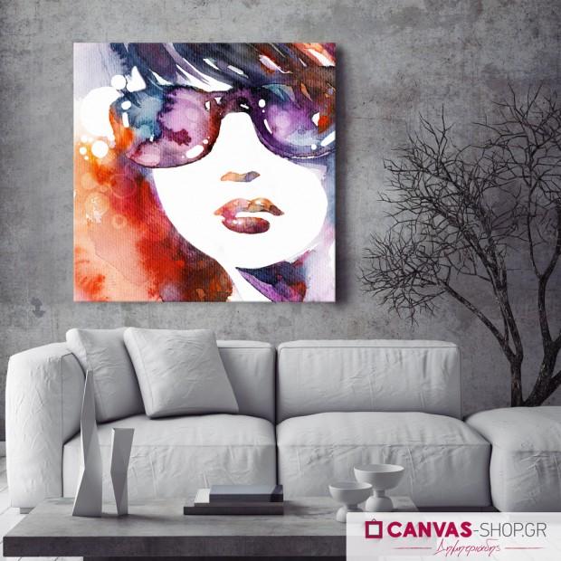 Γυναικείο Πορτρέτο, πίνακας σε καμβά
