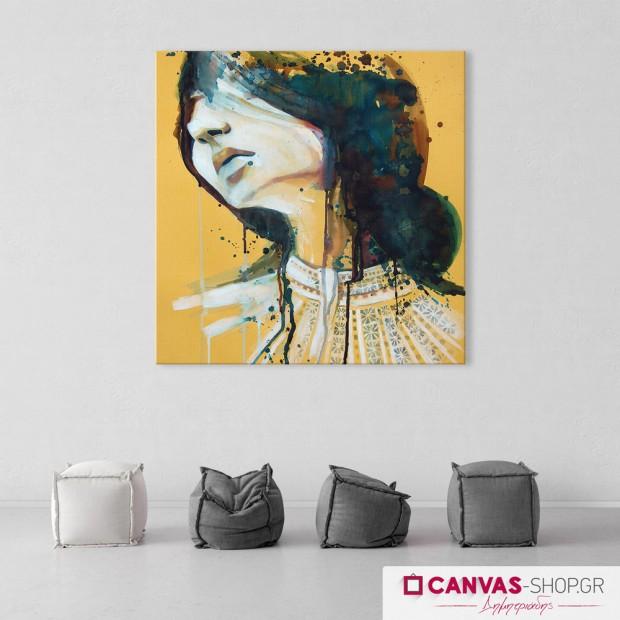 Πορτρέτο Γυναίκας, πίνακας σε καμβά