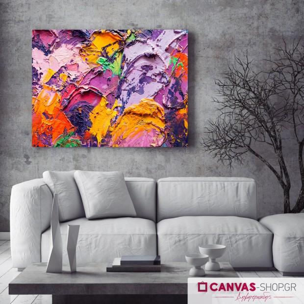 Πανδαισία Χρωμάτων, πίνακας σε καμβά