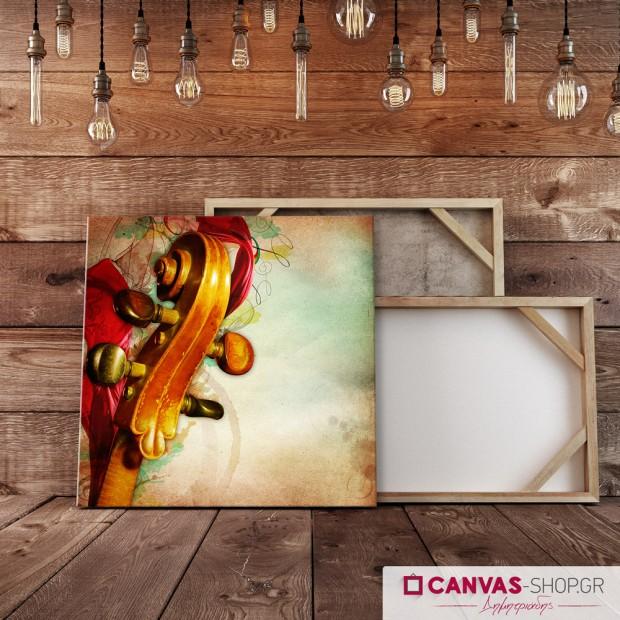 Βιολί , πίνακας σε καμβά