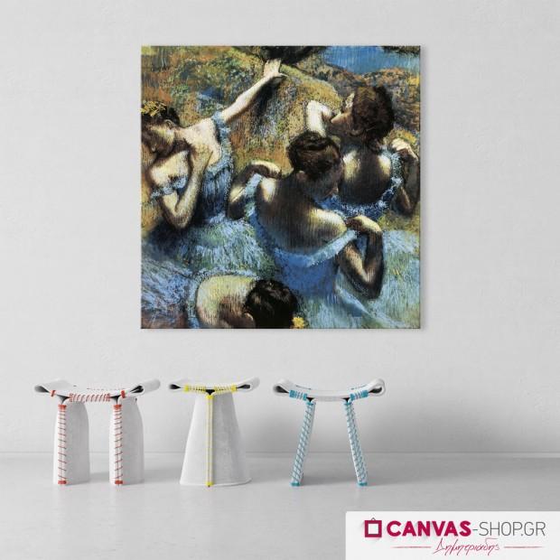 Μπαλαρίνες , πίνακας σε καμβά