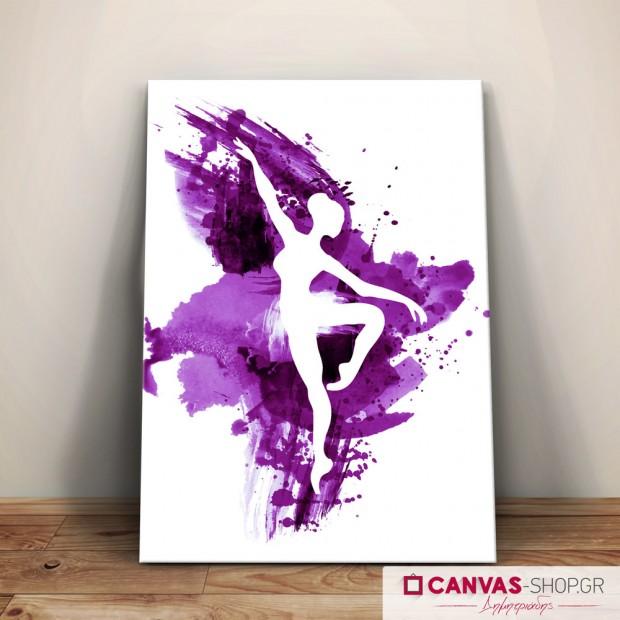 Χορεύτρια , πίνακας σε καμβά