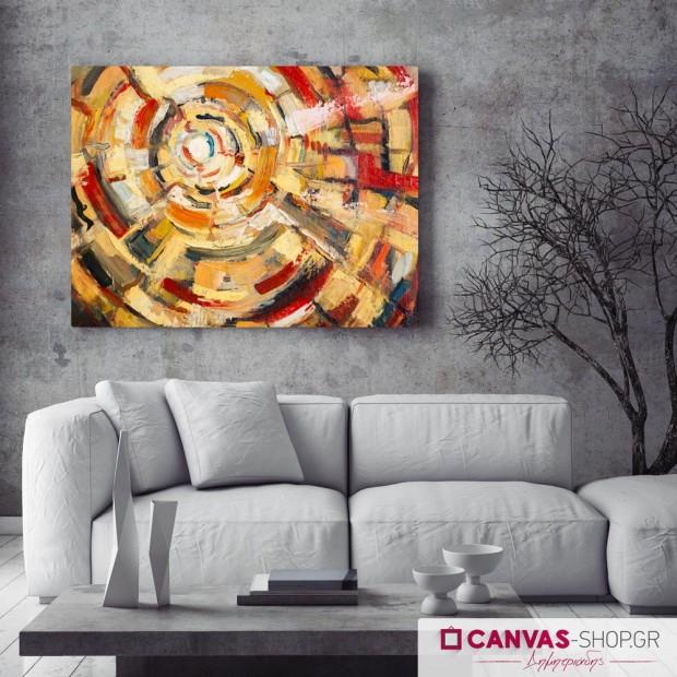 Αφηρημένη Τέχνη Κύκλοι , πίνακας σε καμβά