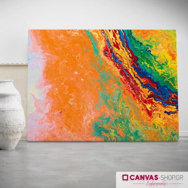 Αφηρημένη Τέχνη , πίνακας σε καμβά