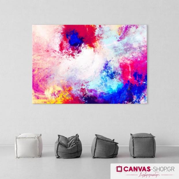 Πανδαισία Χρωμάτων , πίνακας σε καμβά