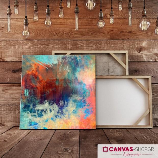 Χρωματιστός Πίνακας, πίνακας σε καμβά
