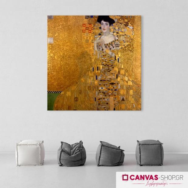 Gustav Klimt: Adele, πίνακας σε καμβά