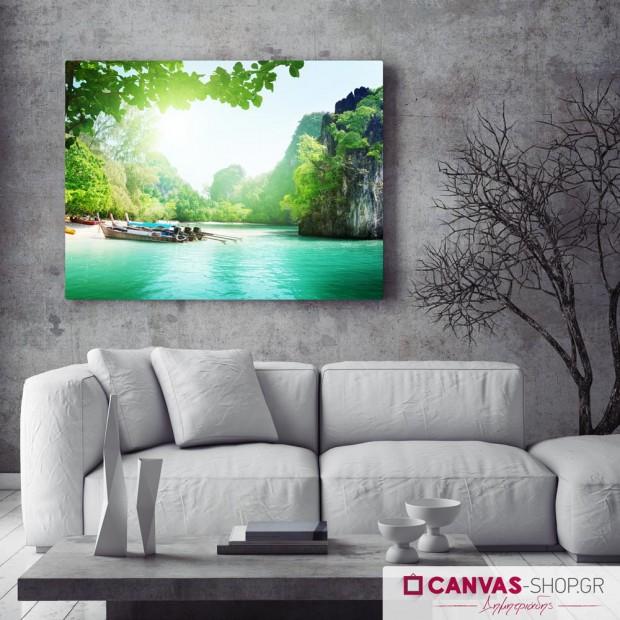Επίγειος Παράδεισος , πίνακας σε καμβά