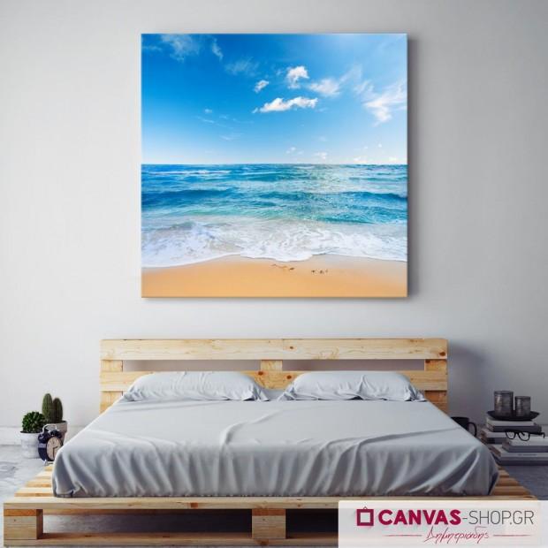 Όμορφη Θάλασσα , πίνακας σε καμβά
