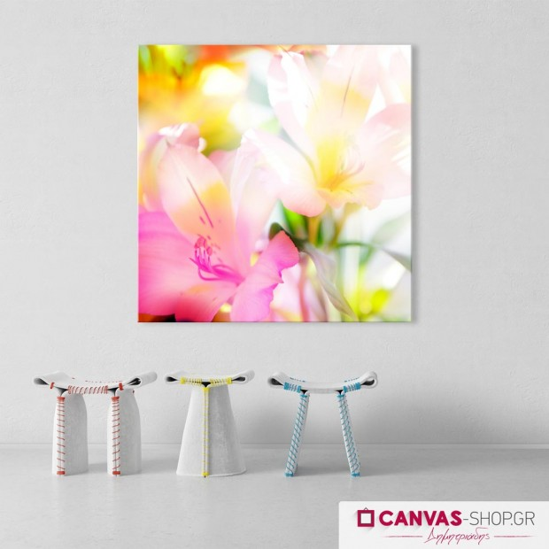 Λουλούδια 2, πίνακας σε καμβά