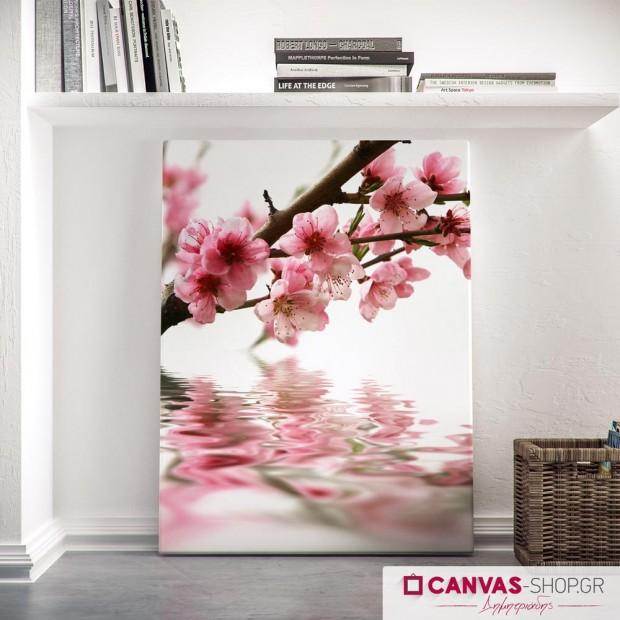 Λουλούδια  Άνοιξης 2, πίνακας σε καμβά