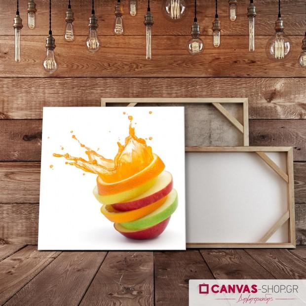 Φρούτα , πίνακας σε καμβά