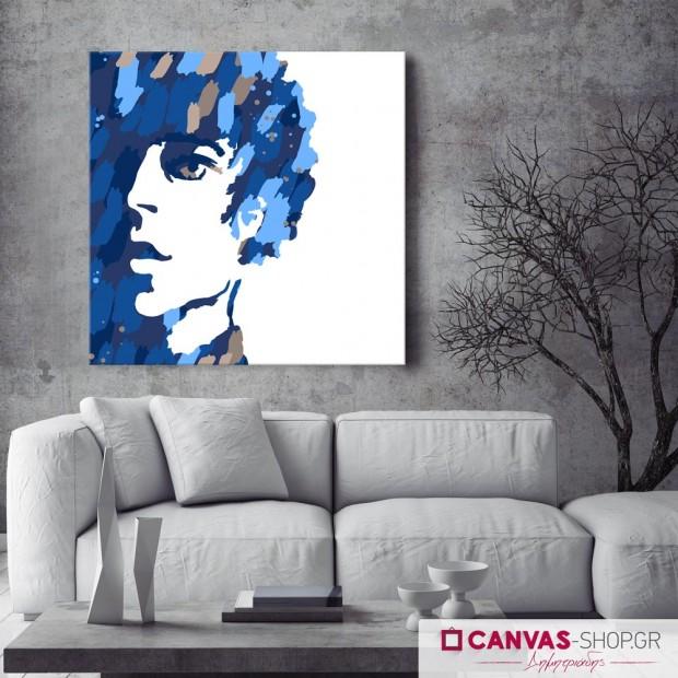 Πορτρέτο Άνδρα , πίνακας σε καμβά