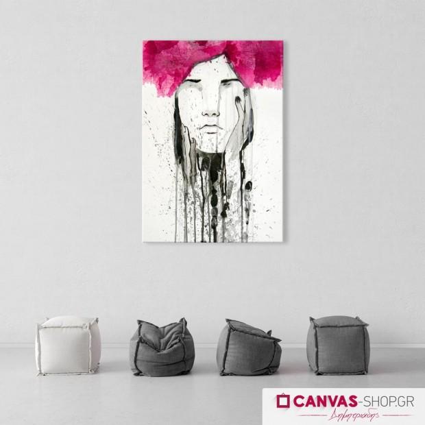 Γυναικείο Πορτρέτο , πίνακας σε καμβά