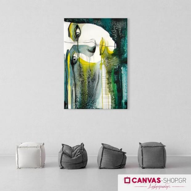 Δακρυσμένη Γυναίκα , πίνακας σε καμβά