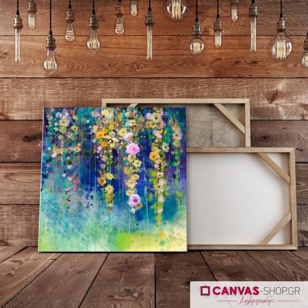 Λουλούδια της Άνοιξης, πίνακας σε καμβά