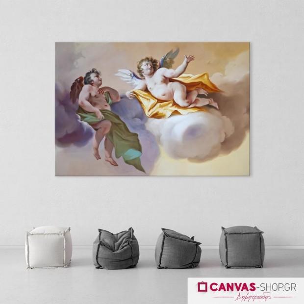 Άγγελοι, πίνακας σε καμβά