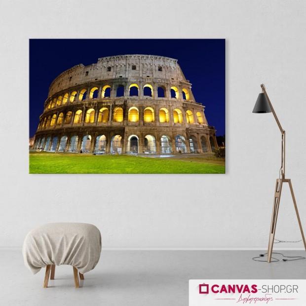 Κολοσσαίο Ρώμη, πίνακας σε καμβά