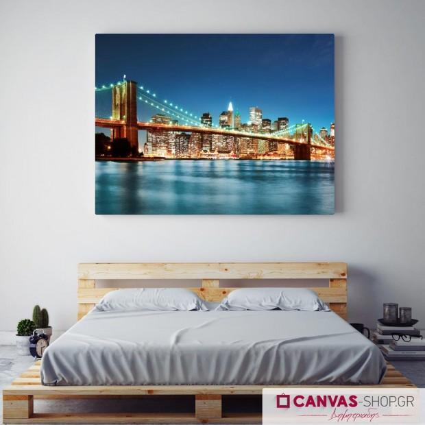 Γέφυρα του Μπρούκλιν, πίνακας σε καμβά