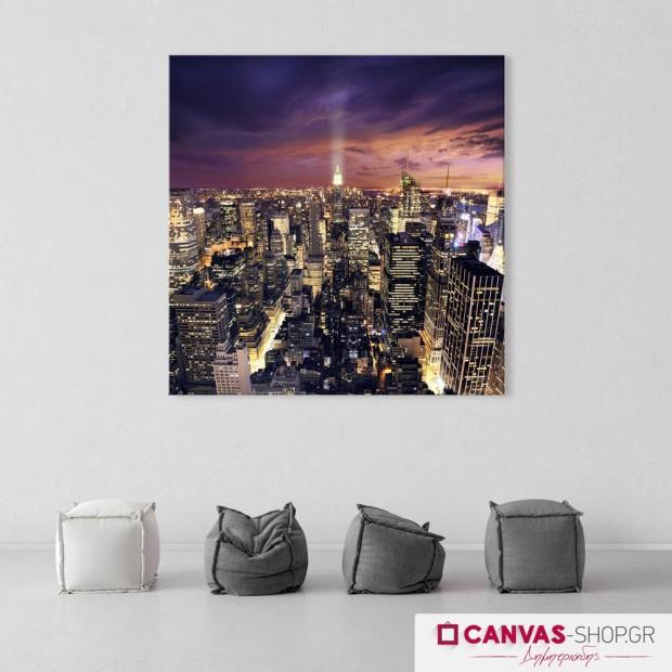 Νέα Υόρκη, πίνακας σε καμβά