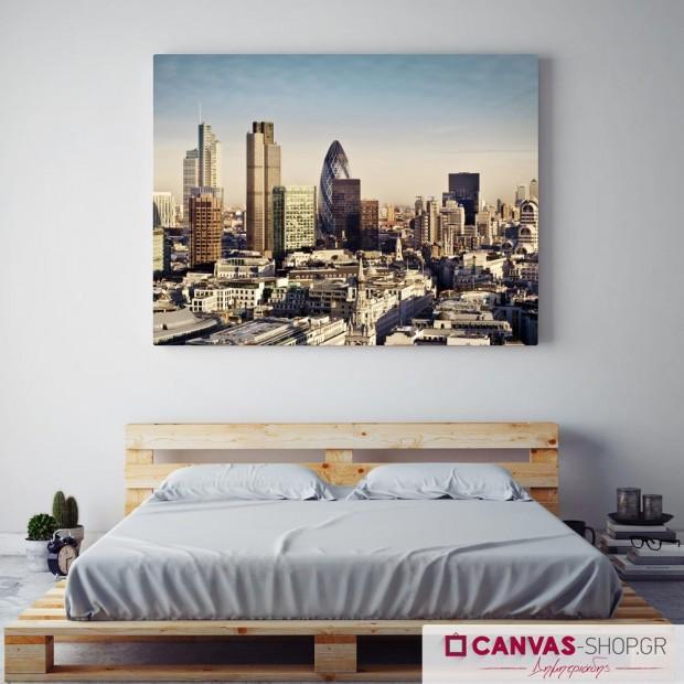 Λονδίνο, πίνακας σε καμβά