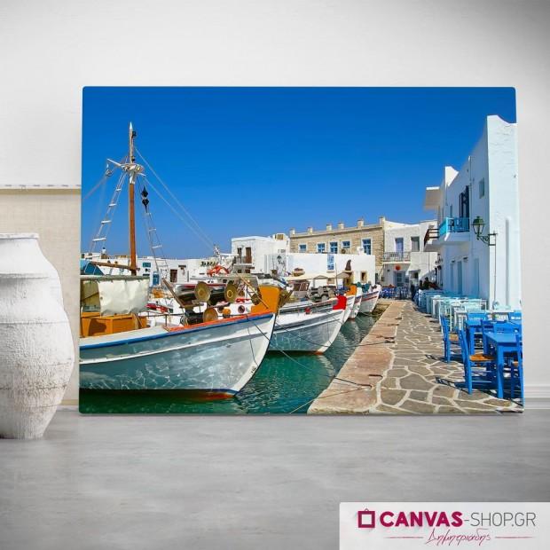 Ελληνικά Νησιά , πίνακας σε καμβά