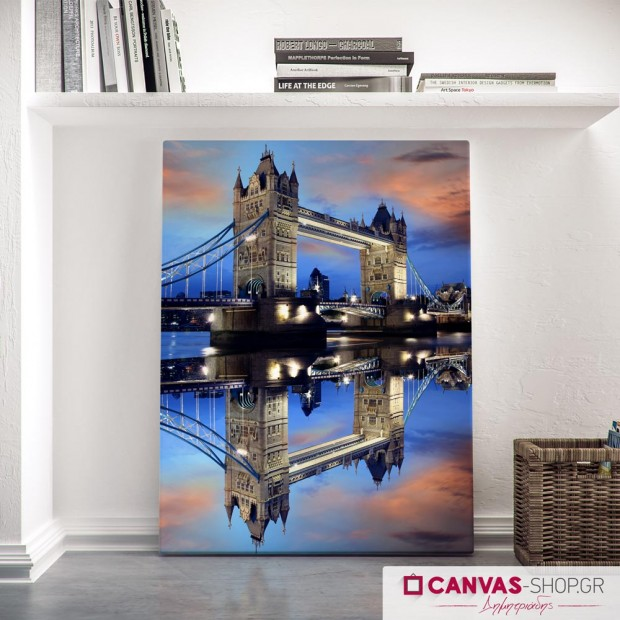 Tower Bridge του Λονδίνου, πίνακας σε καμβά