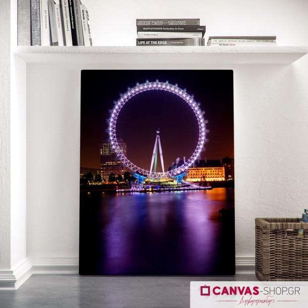 London Eye, πίνακας σε καμβά