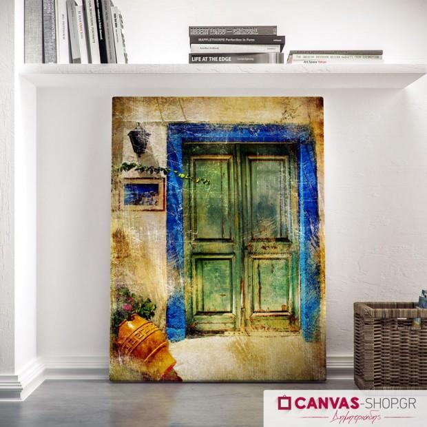 Παλιά Πόρτα, πίνακας σε καμβά