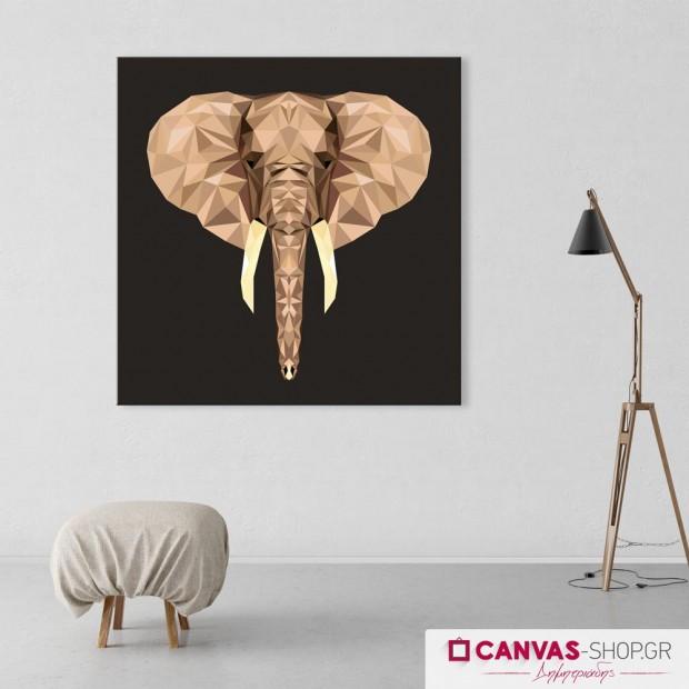 Ελέφαντας, πίνακας σε καμβά